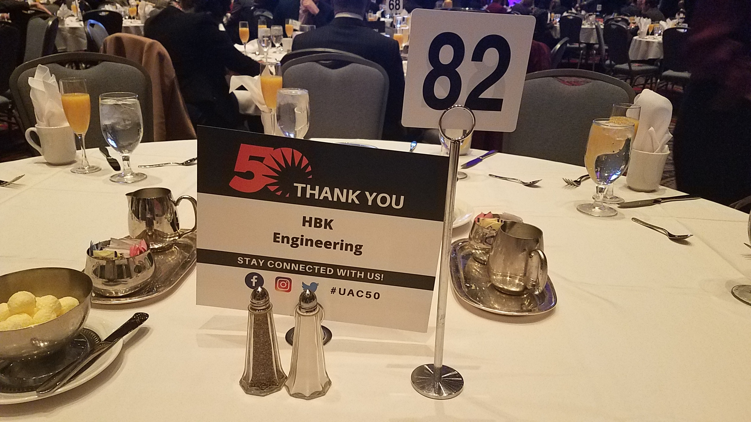 HBK sponsors table at Urban Affairs Coalition Breakfast