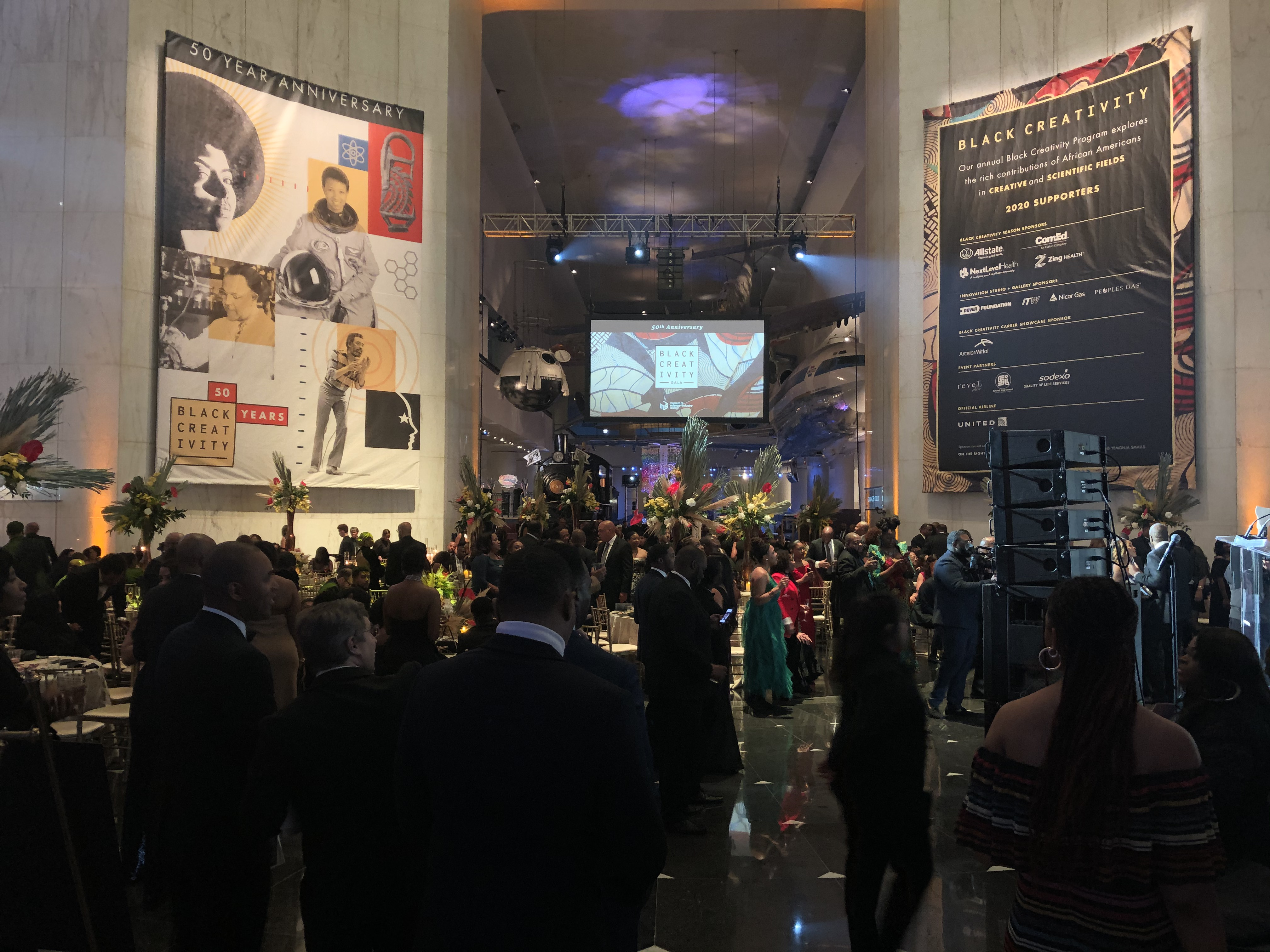 MSI hall for 50th Anniversary celebration