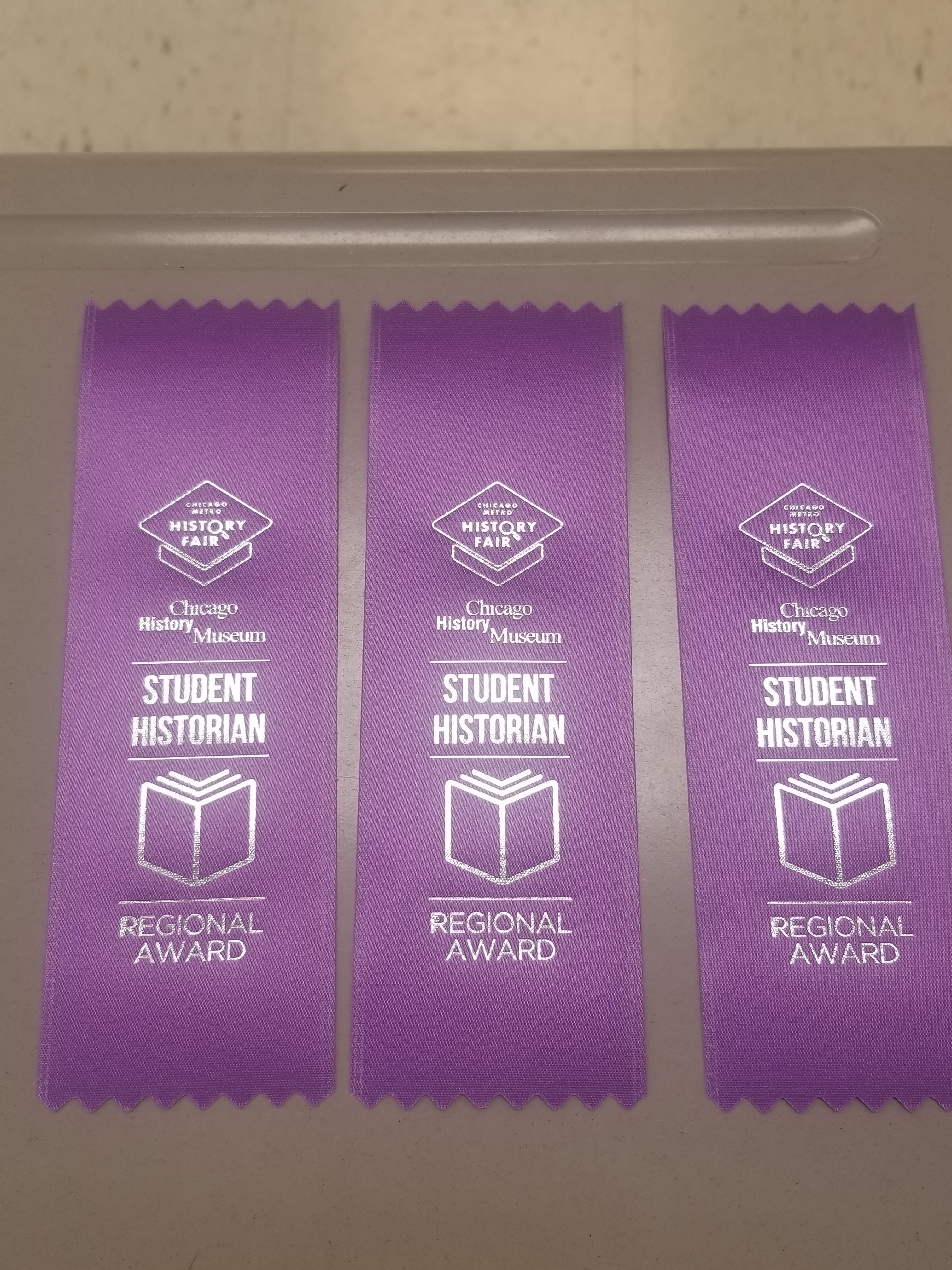 Ribbons were awarded at the fair