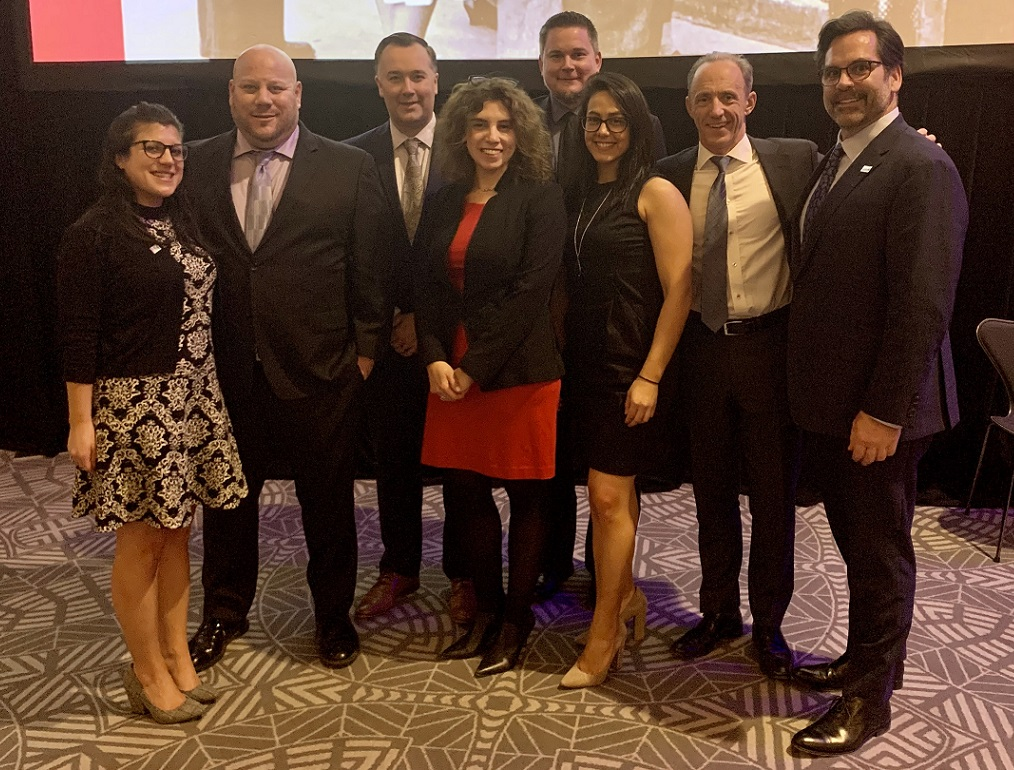 HBK executives and employees attend Erie House dinner