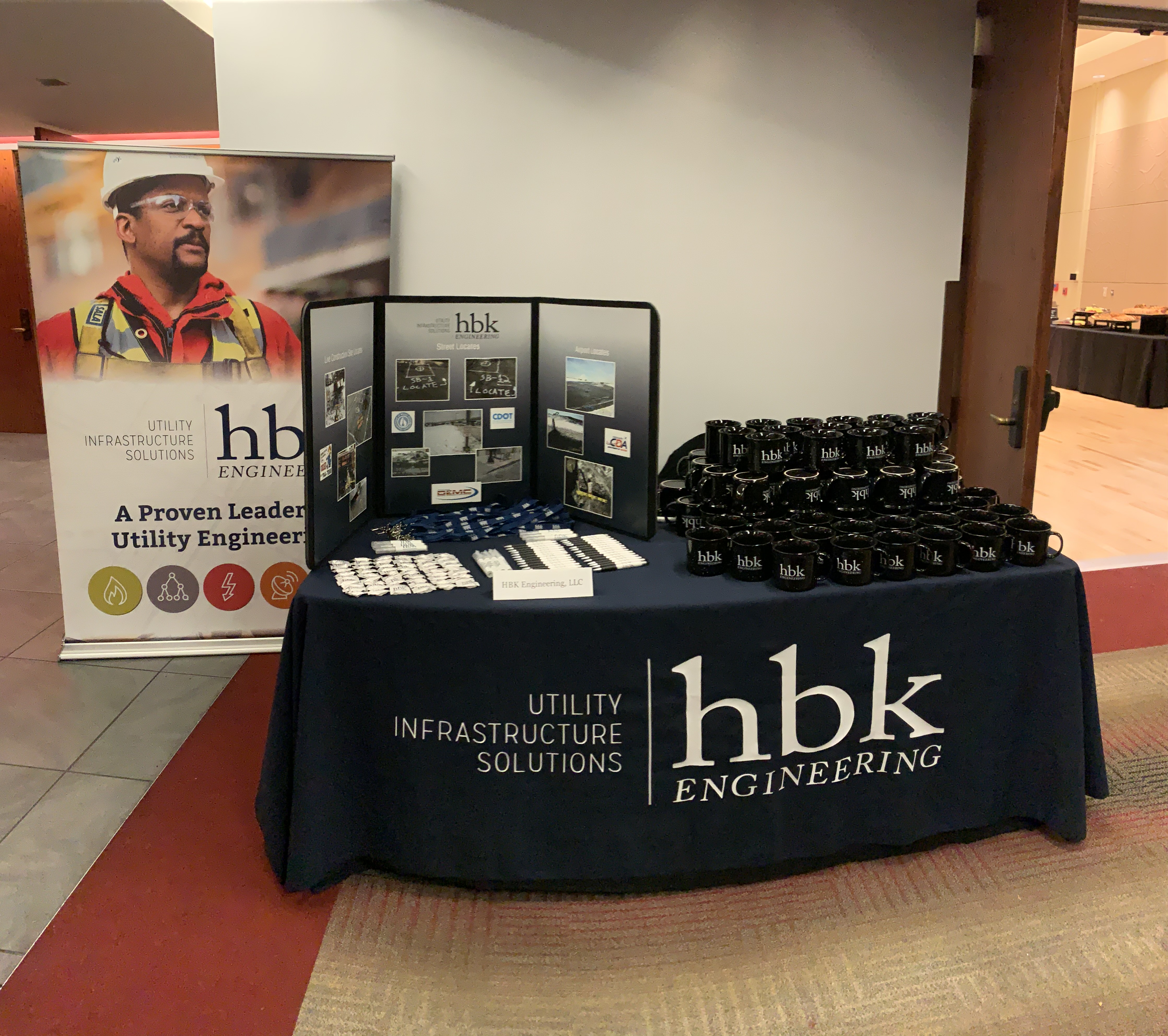 HBK booth at the GCDPC Breakfast