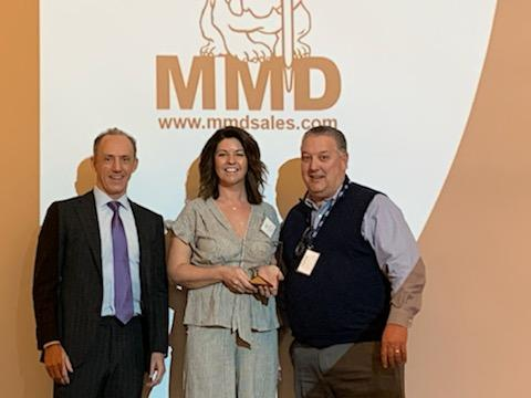 MMD was among the award winners announced at the breakfast