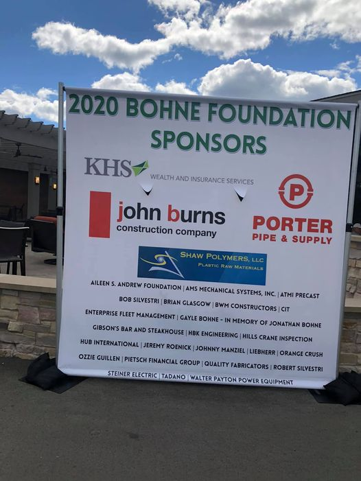 The Bohn Foundation Golf Outing Sponsor Banner