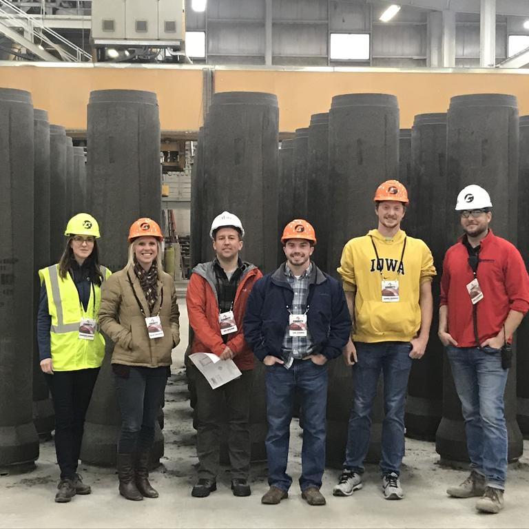 HBK employees tour County Materials Corporation
