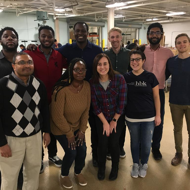 HBK volunteers help at the Greater Chicago Food Depository