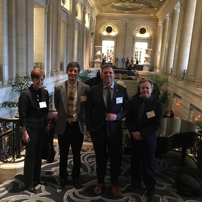 HBK employees attend luncheon at the South Michigan Avenue Hilton