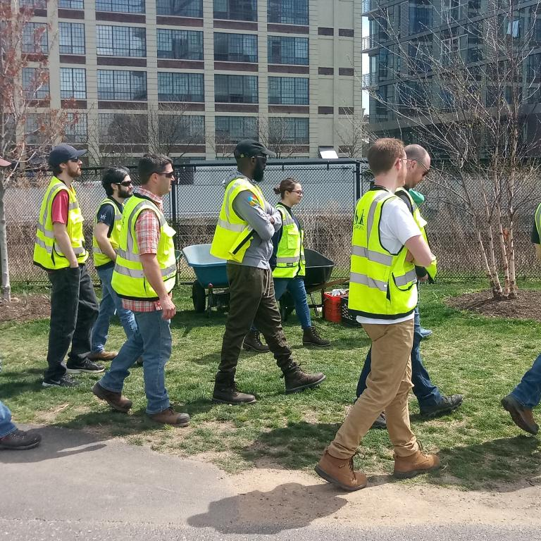 National Volunteer Week- Schuylkill Banks