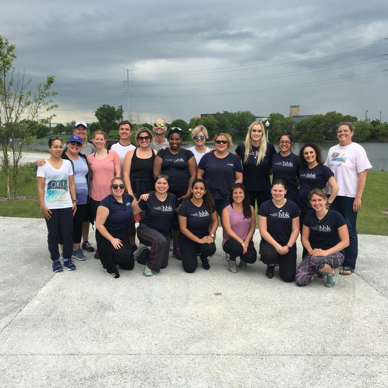 HBK teams up with Recovery On the Water Chicago