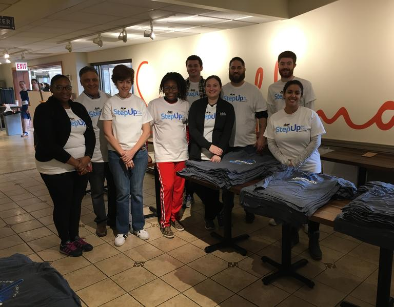 HBK IMPACT volunteers support Aon Step Up for Kids